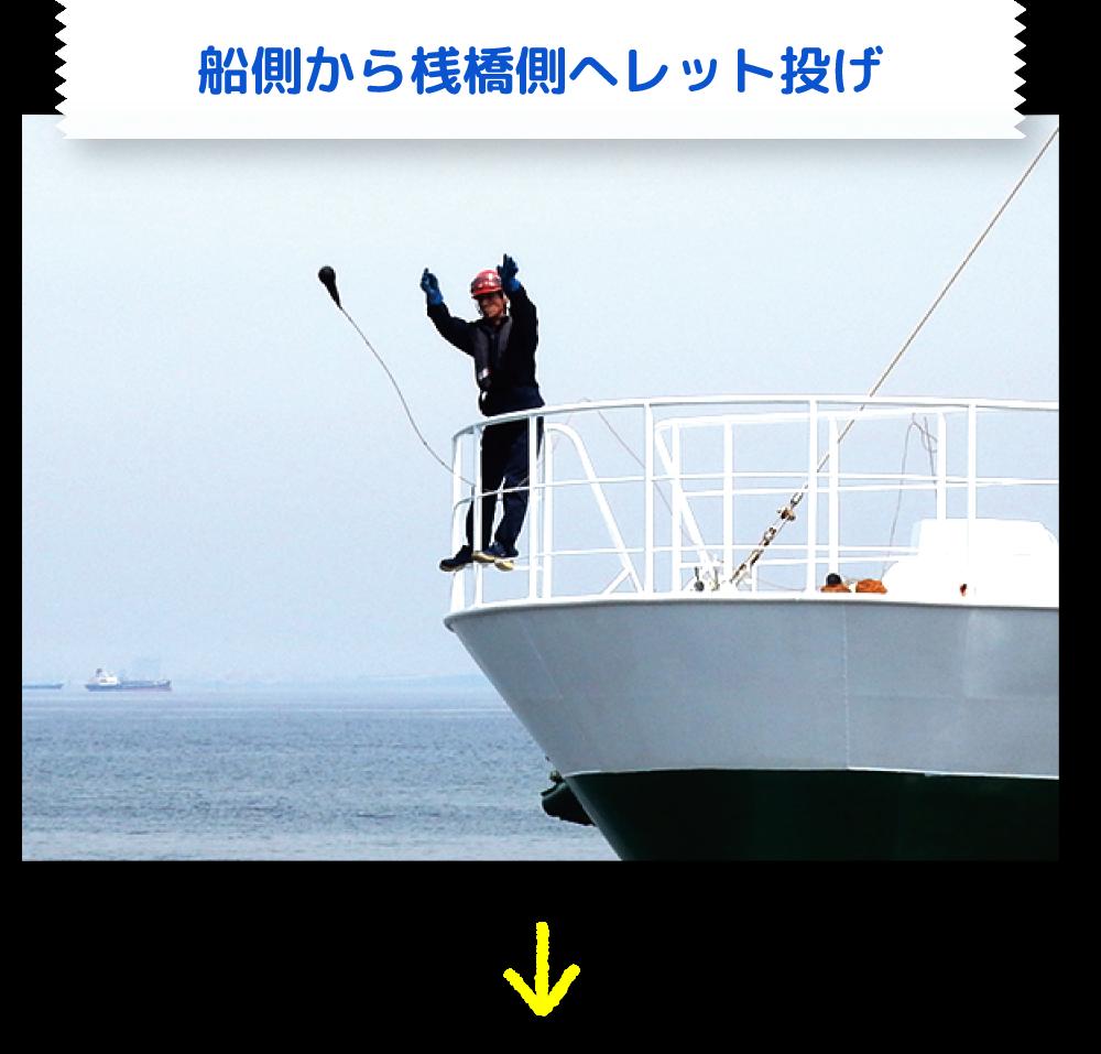入港・着桟3